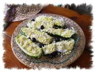 PHOTO COURGETTE MIMOSAS